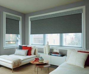 Hunter Douglas Designer Roller Shades near Fredericksburg, Virginia (VA) and other custom motorized shades